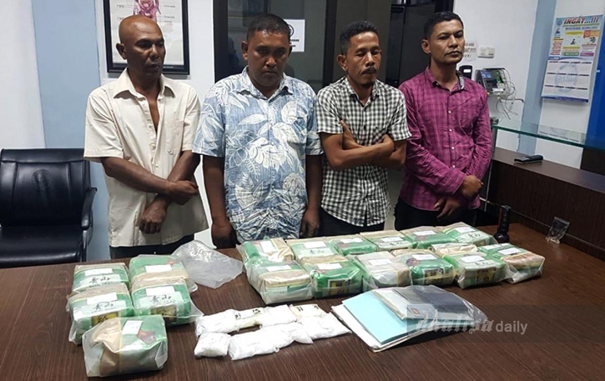 BNN dan Bea Cukai Gagalkan Penyelundupan 33,9 Kg Sabu