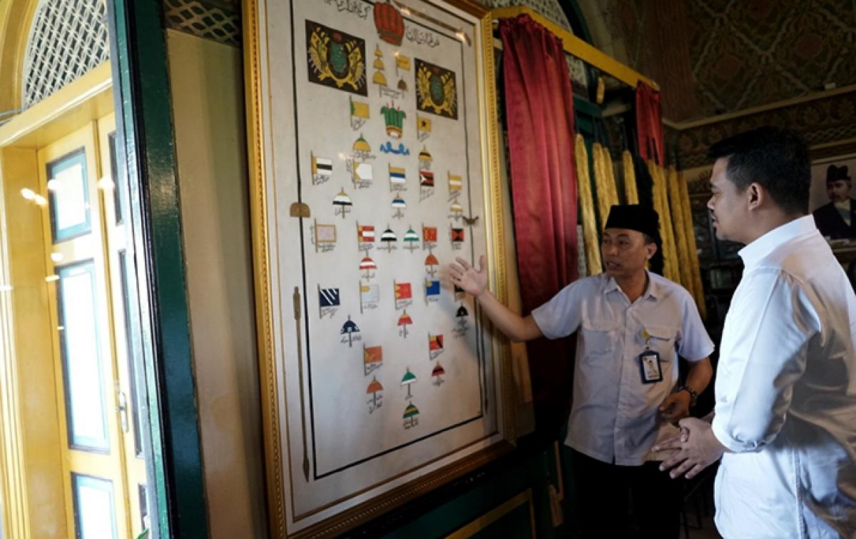 Bobby Nasution Akan Buatkan Website Istana Maimoon