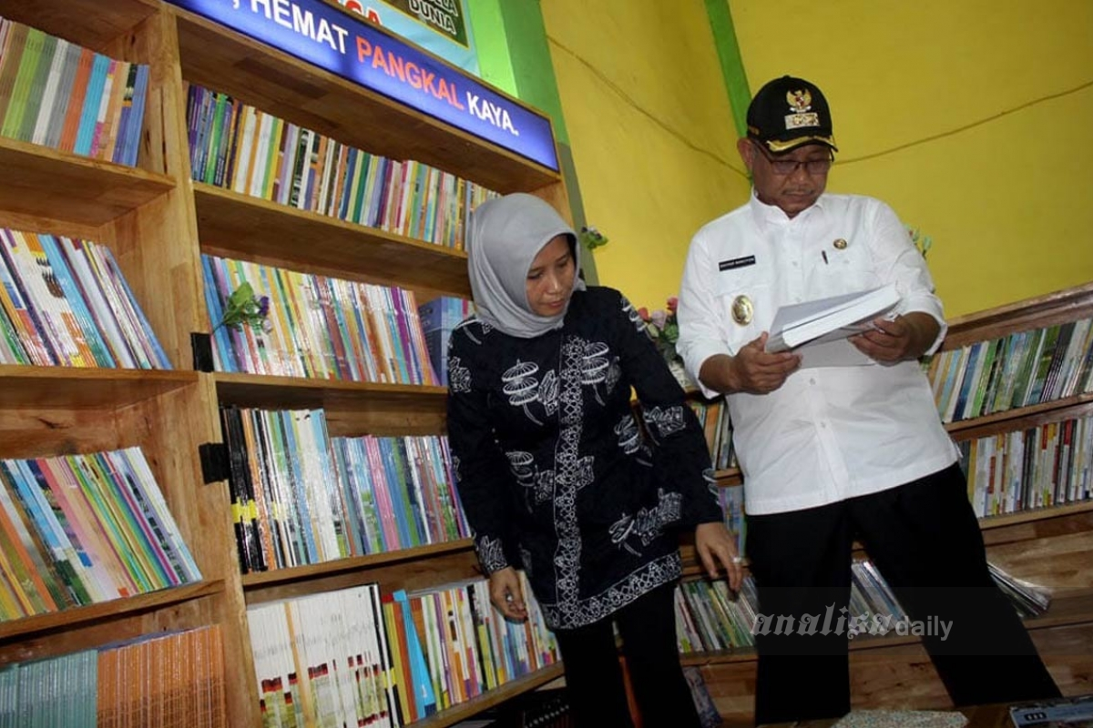 Akhyar Nasution Resmikan Pojok Baca SMP N 7 Medan