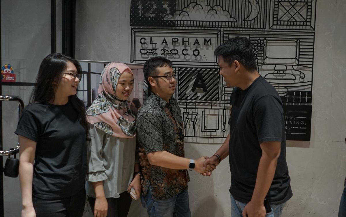 Bobby Nasution Bertandang ke Clapham, Wadah Pegiat Start Up