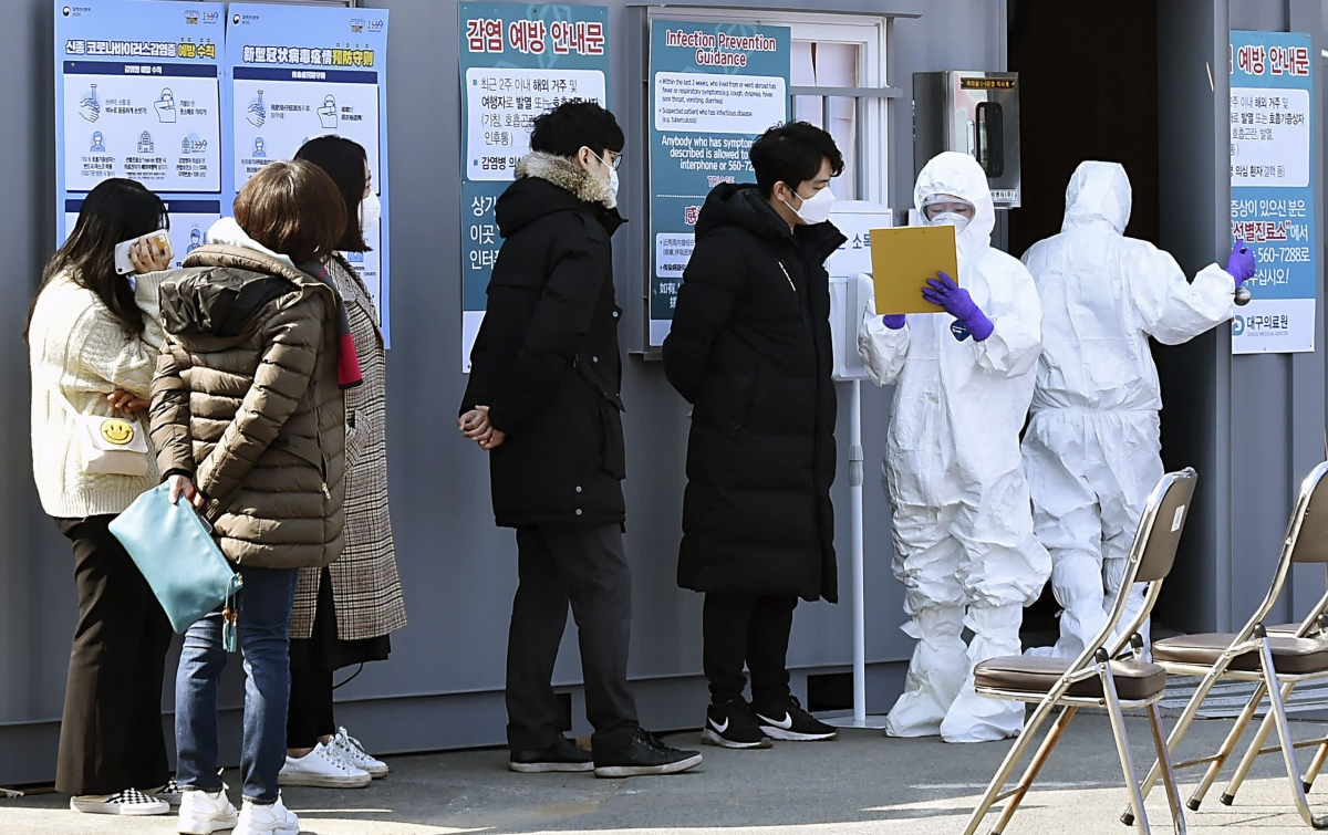 Korea Selatan Laporkan 142 Kasus Baru Corona COVID-19