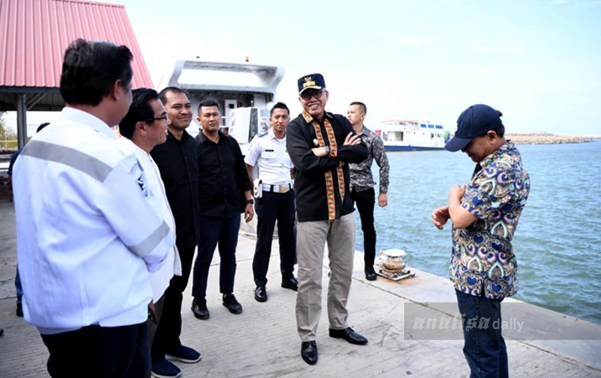 Pelayanan Penumpang di Pelabuhan Ulee Lheue Berjalan Baik