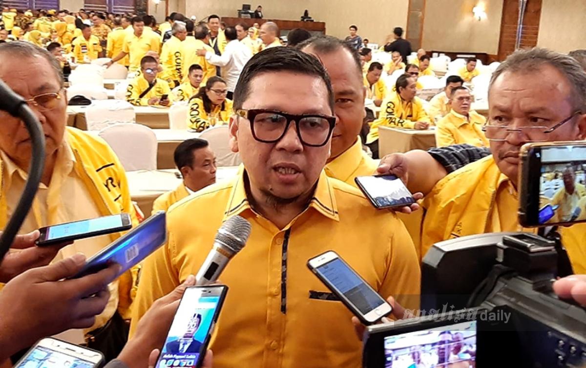 Ahmad Doli: Sejak Awal Golkar Dukung Bobby Nasution