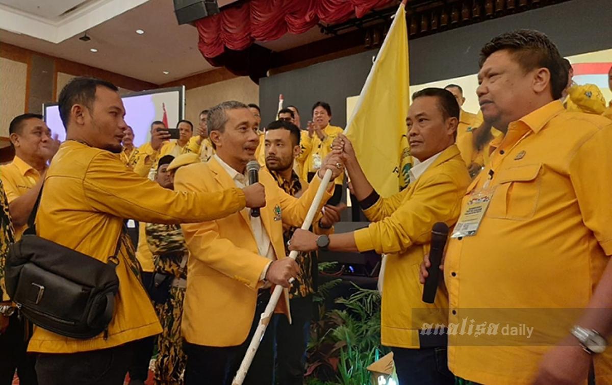 Langkah Yasir Ridho Usai Terpilih Ketua Golkar Sumut