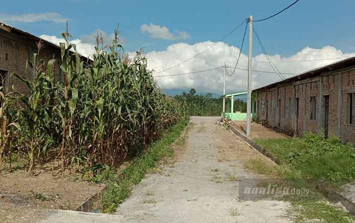 Ratusan Rumah Pengungsi di Karo Mangkrak