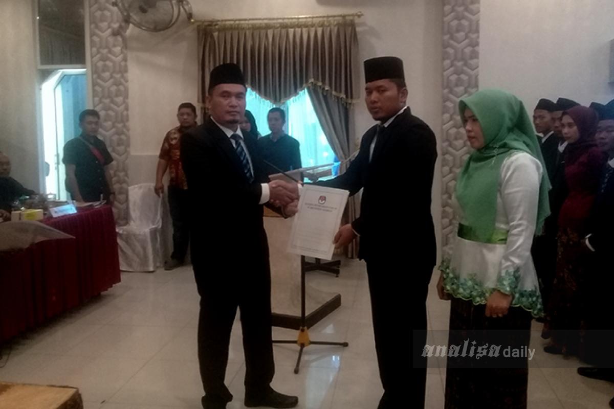 KPUD Asahan Lantik 125 Panitia Pemilihan Kecamatan