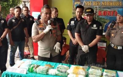 Polisi Tembak Mati Satu dari Sembilan Pengedar Narkotika