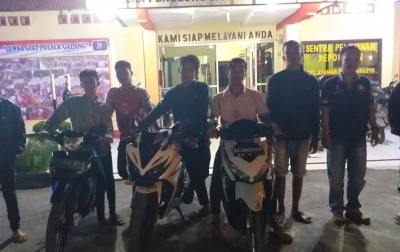 Empat Remaja Ditangkap Polsek Galang Dalam Razia Malam