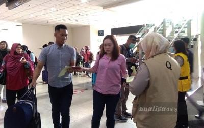 Wabah Virus Corona, WN China Dilarang Masuk Bandara Kualanamu