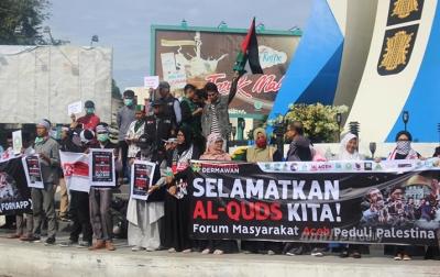Masyarakat Aceh Gelar Aksi Selamatkan Al-Quds