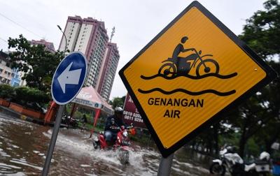 Hujan Lebat, 23 Kecamatan di Jakarta Terdampak Banjir