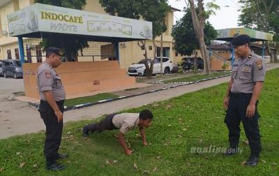 Tidak Disiplin, Personel Polresta Deliserdang Ditindak