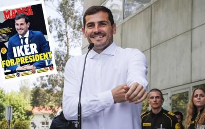 Iker Casillas Mencalonkan Diri Sebagai Presiden RFEF