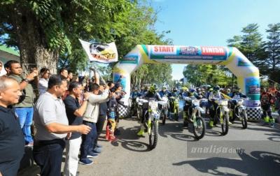 Ratusan Rider Jelajahi Alam Aceh