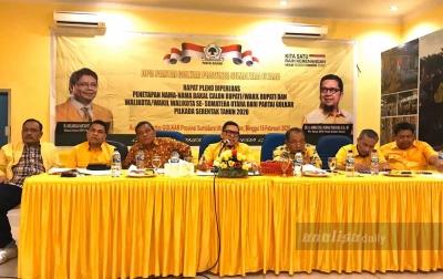 Musda Golkar Sumatera Utara Digelar Sebelum 5 Maret 2020