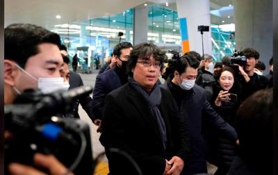 Bong Joon-ho Disambut Meriah di Korea Selatan