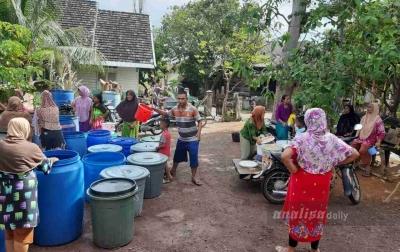 Sejumlah Kecamatan di Aceh Besar Krisis Air Bersih