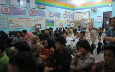 Periksa Berkas Calon Perorangan, KPU Medan Gandeng Tiga Kampus