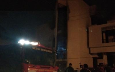 Tempat Penyimpanan Barang di FEB USU Terbakar