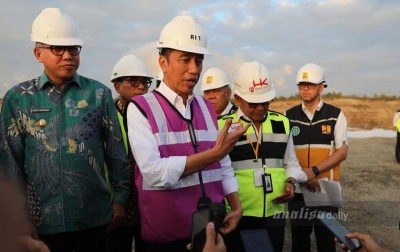 Joko Widodo: Pembangunan Tol Sibanceh Menggembirakan