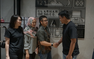 Bobby Nasution Bertandang ke Clapham, Wadah Pegiat Start Up