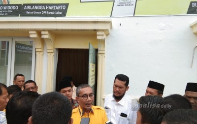 Yasir Ridho Daftar Jadi Calon Ketua Golkar Sumut