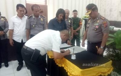 Polres Batubara Canangkan Wilayah Bebas Korupsi