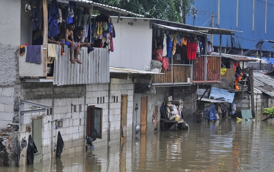 19 Ribu Lebih Warga Mengungsi Akibat Banjir Jabodetabek
