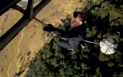 Corona di Italia, Syuting 'Mission: Impossible' Terhenti