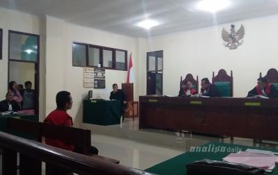 Pembunuh Siswi SMK Tarutung Divonis 20 Tahun Penjara