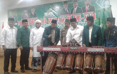 Muswil Al-Washliyah XIII Resmi Dibuka, PB Berharap Pemilihan Ketua Berlangsung Jurdil