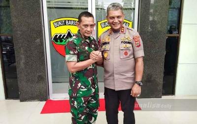 Bentrok TNI dan Polri, Pangdam I/BB dan Kapolda Sumut: Ini Hanya Kesalahpahaman