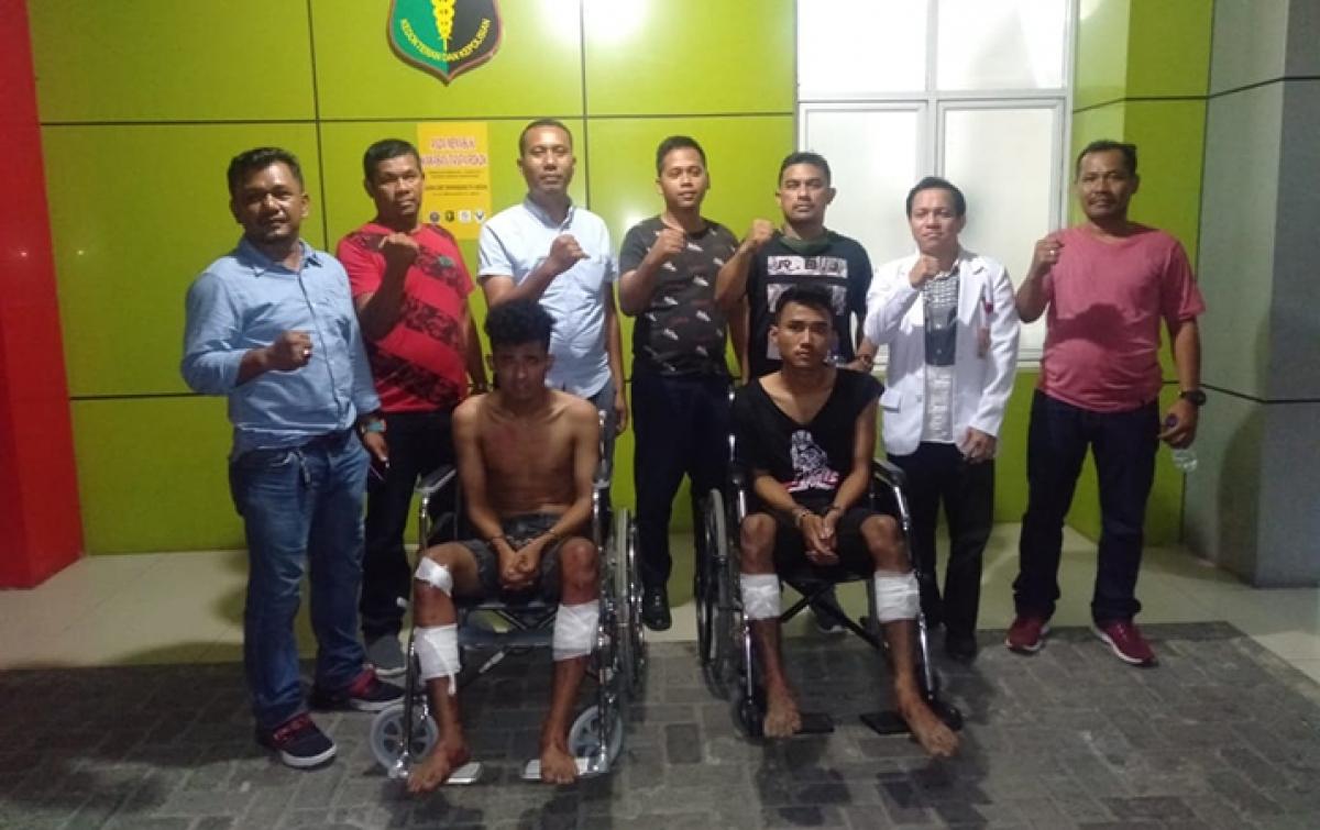 Puluhan Kali Beraksi, 2 Bandit Jalanan Ditembak Polisi