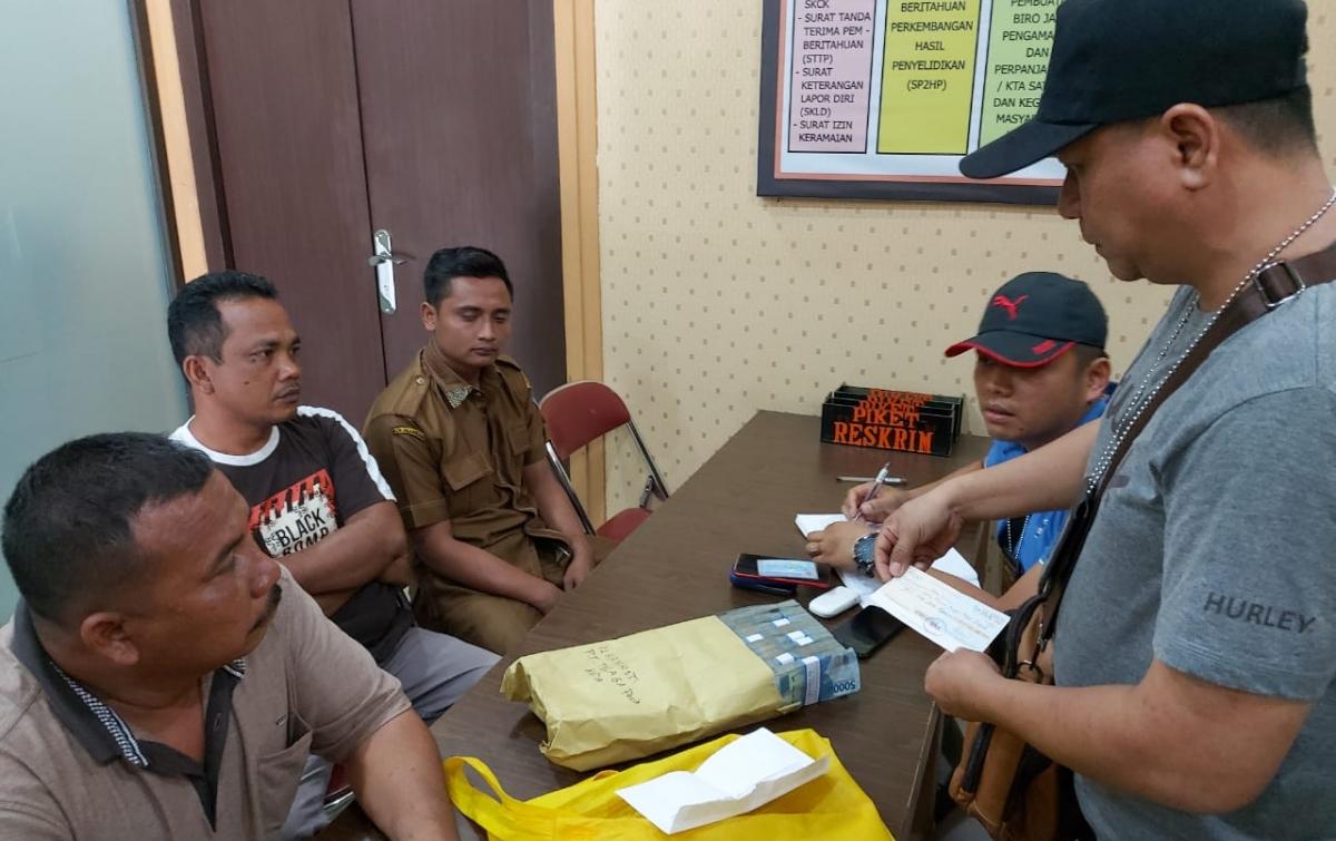 Polisi Tetapkan Tiga Tersangka Dalam OTT Kadis Perkim Labuhanbatu