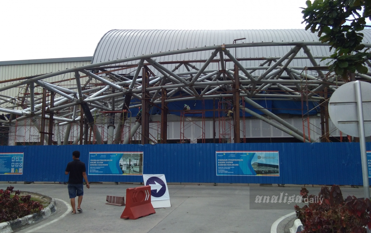 Pengerjaan Gedung Railink Bandara Kualanamu Diduga Tak Punya IMB