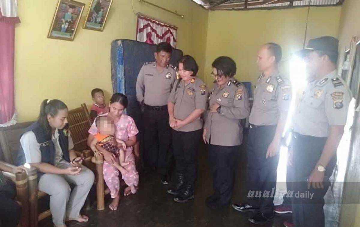 Polisi Bantu Dua Penderita Tumor di Ramunia