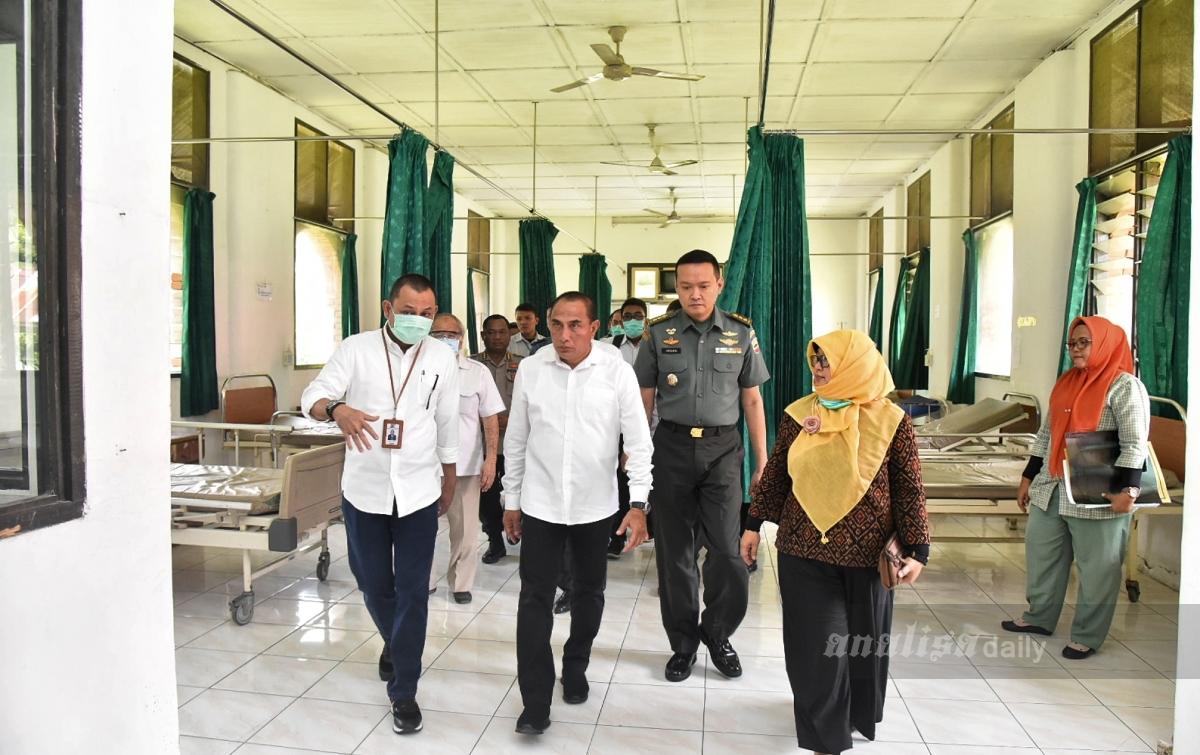 Darurat Covid-19, Gubernur Sumut Siapkan Posko Evakuasi Utama
