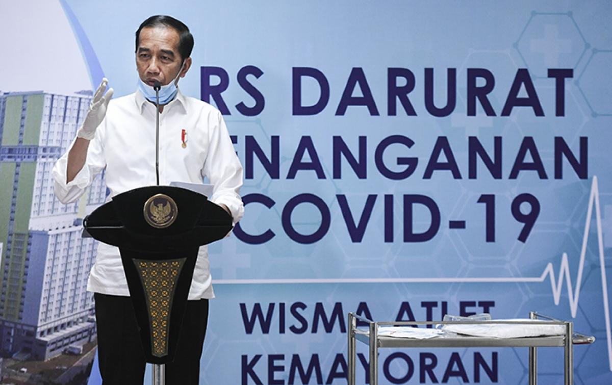 Alasan Presiden Jokowi Tidak Pilih Lockdown