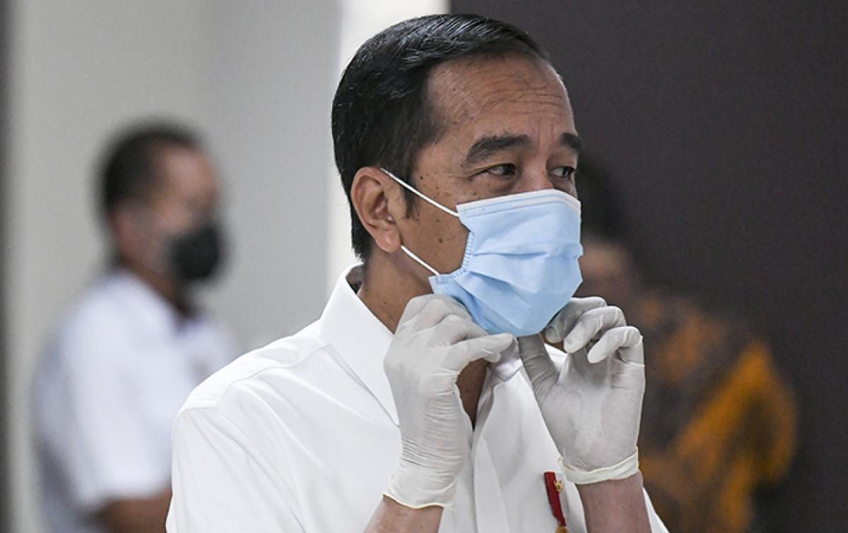 Presiden Jokowi Perkirakan Sopir Angkot di Sumut Terparah Terdampak COVID-19