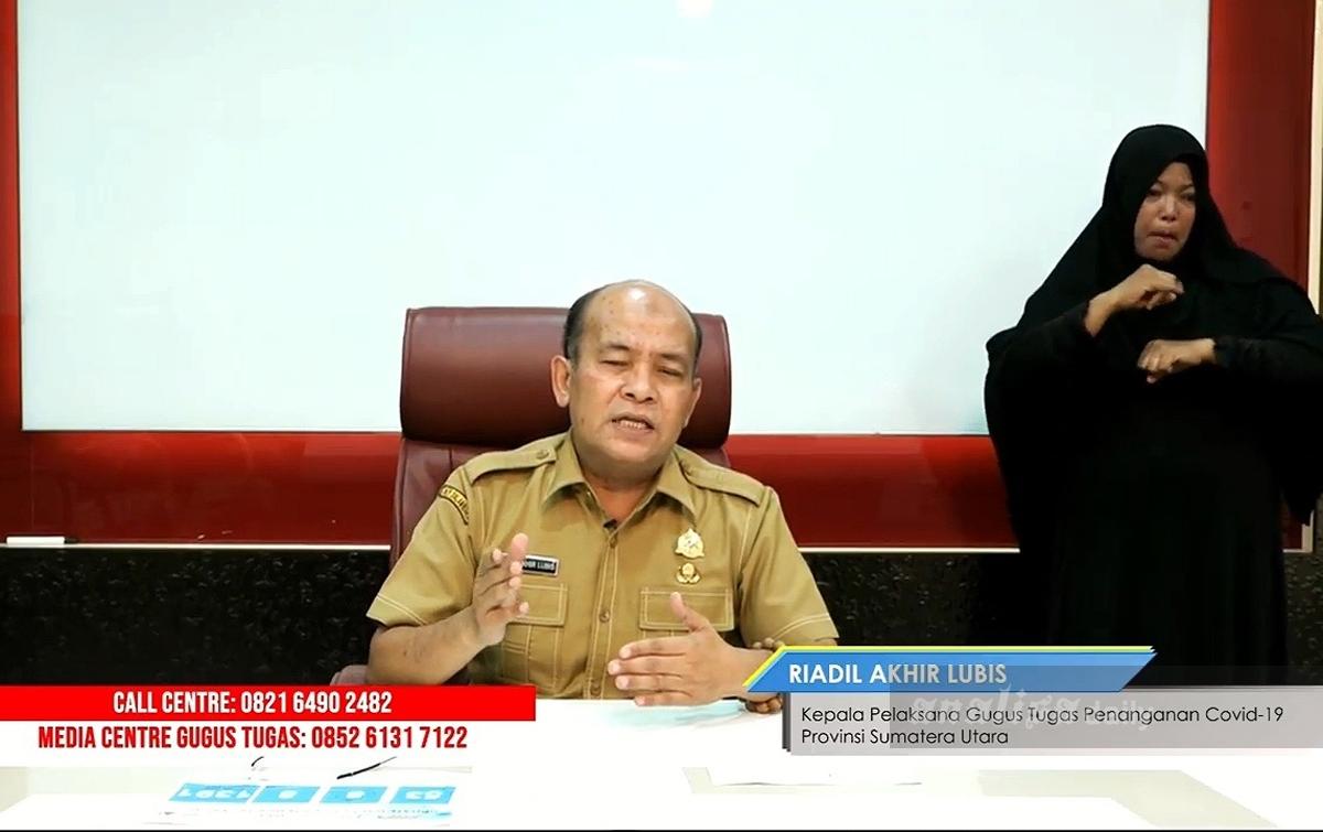 ODP COVID-19 di Sumatera Utara Menjadi 1.391 Orang