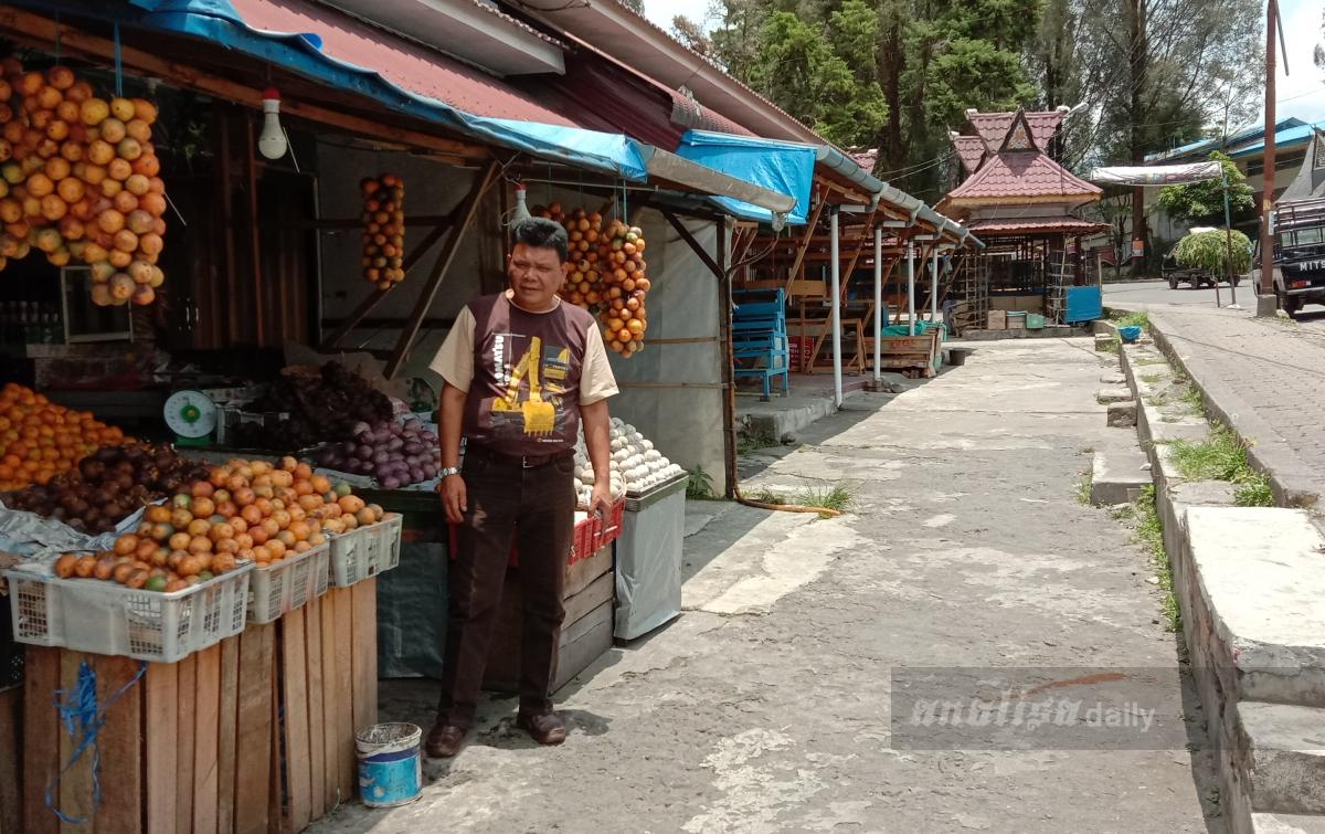 Pasar Berastagi Tutup, Ribuan Ton Buah Terancam Busuk