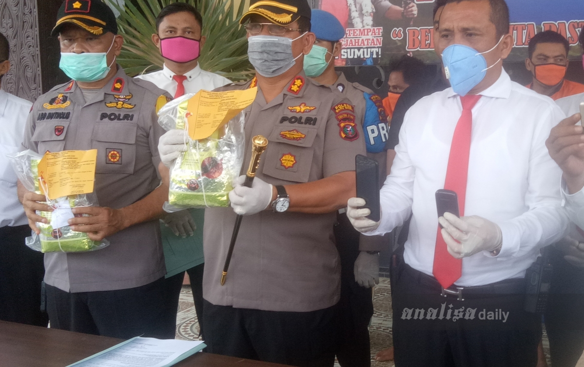Satres Narkoba Polres Batubara Amankan 2 Kilogram Sabu