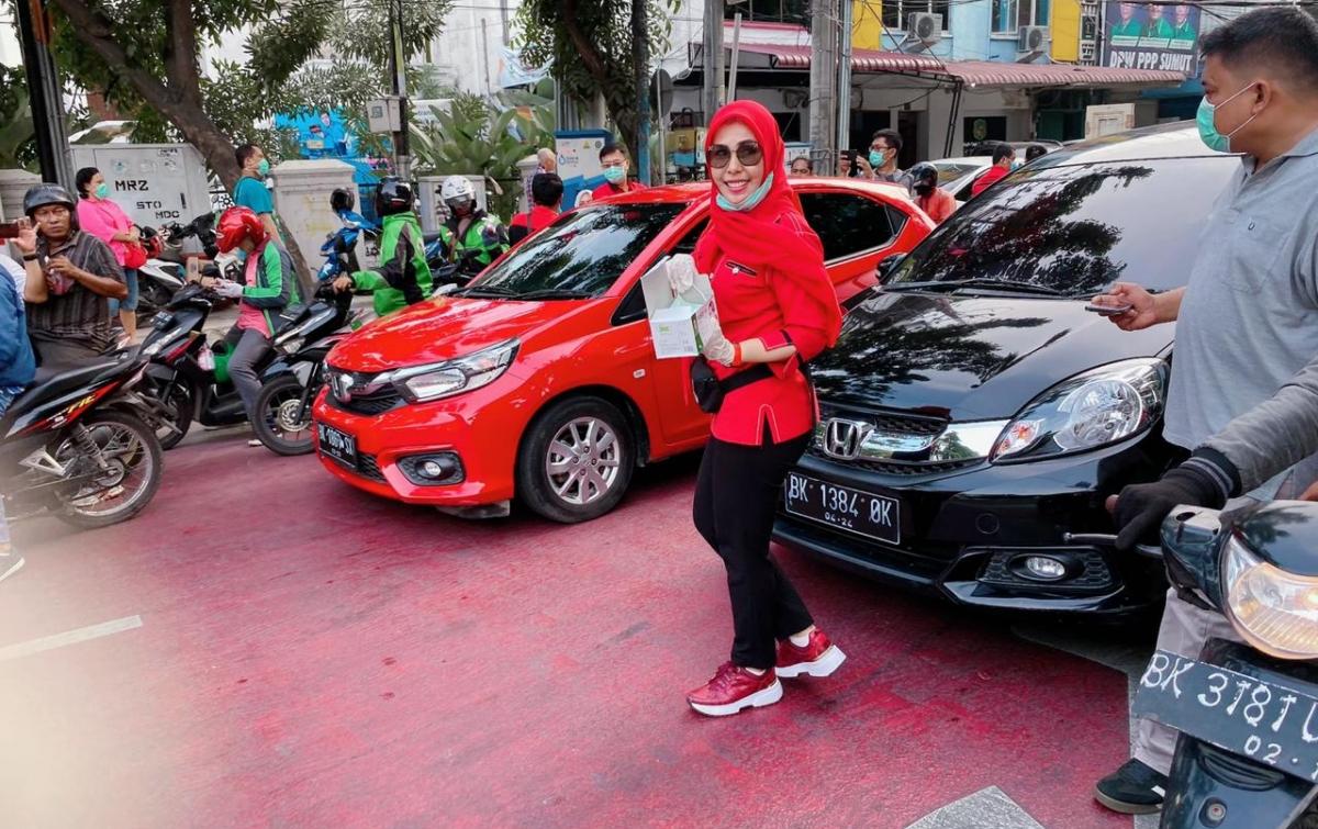 Hj Fitriani Manurung Ingatkan Warga Medan Jaga Kesehatan