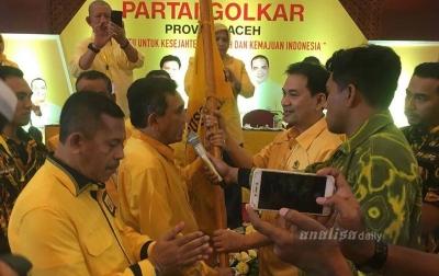 Aklamasi, Muhammad Nurlif Kembali Pimpin Golkar Aceh