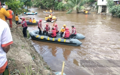 Puluhan Preman Bersihkan Sungai Deli dan Ikuti Pembinaan Rohani