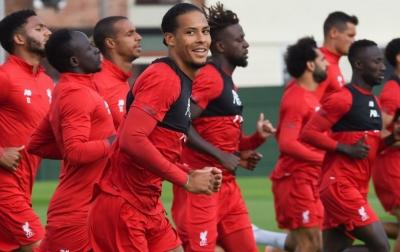 Liga Inggris Ditangguhkan, Pemain Liverpool Gelar Aksi Sosial