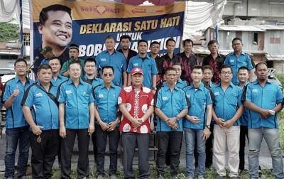 Komunitas Satu Hati Deklarasi Dukung Bobby Nasution