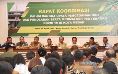 Akhyar Tetapkan Kota Medan Berstatus Siaga Darurat Covid-19