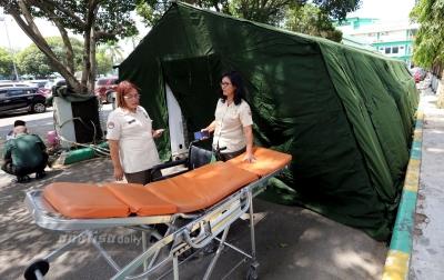 Foto: Tenda Isolasi Darurat
