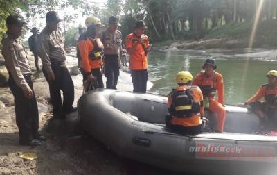 Korban Hanyut di Sungai Buaya Dalam Proses Pencarian